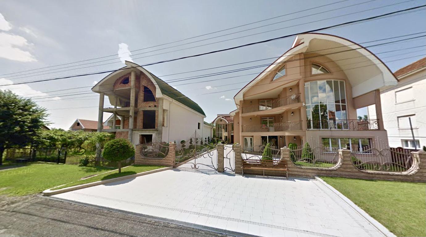 Maisons de Certeze (Google street view)